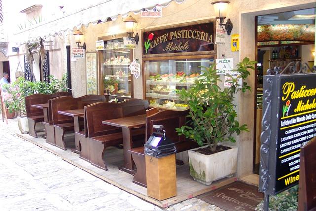 Centro de Erice na Sicilia