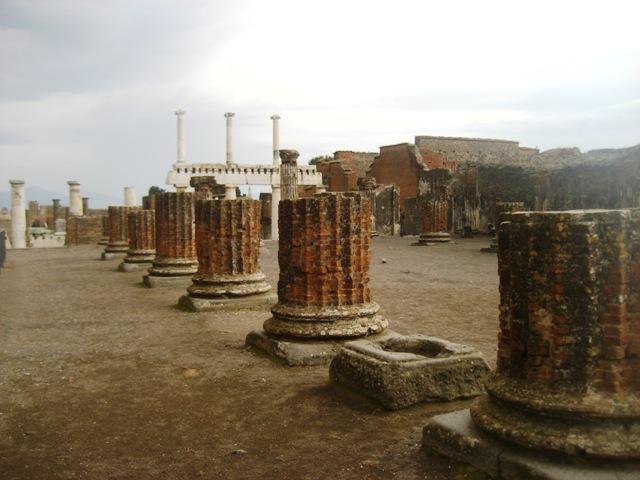 parque arqueológico de Pompéia