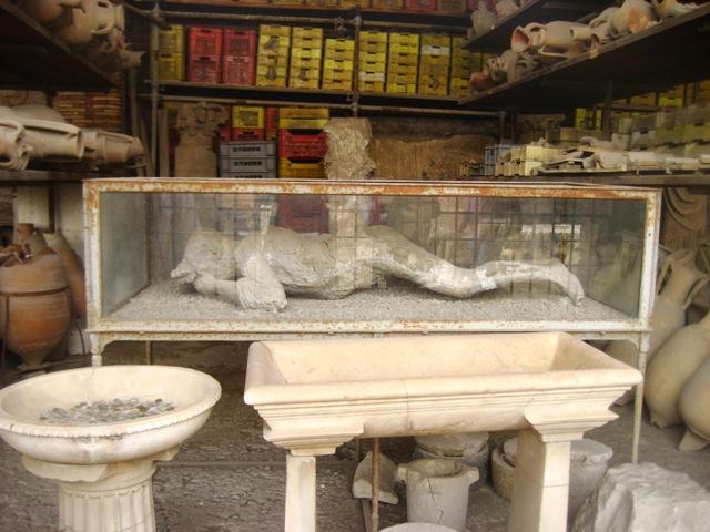 escavações em Pompéia