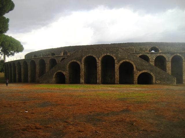 anfiteatro de Pompéia