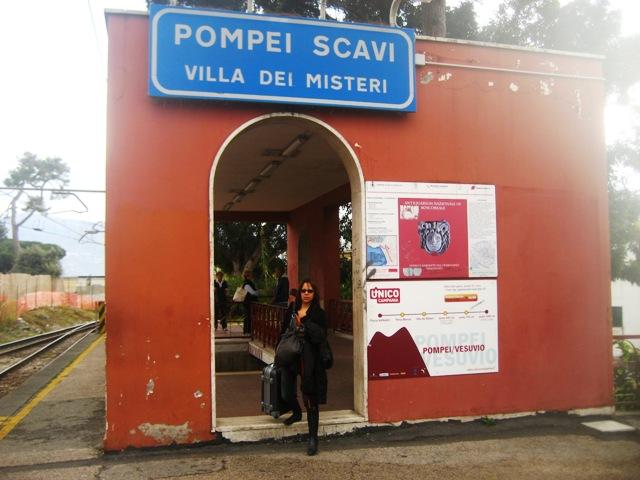 Como chegar em Pompéia