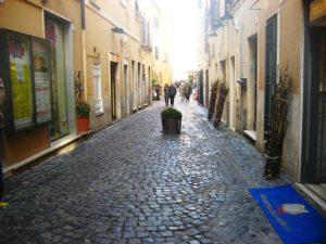 Cidade de Frascati nos arredores de Roma