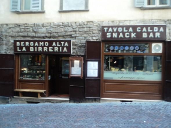 restaurante em Bergamo