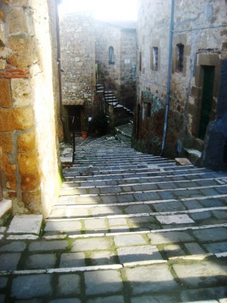 centro histórico na Toscana