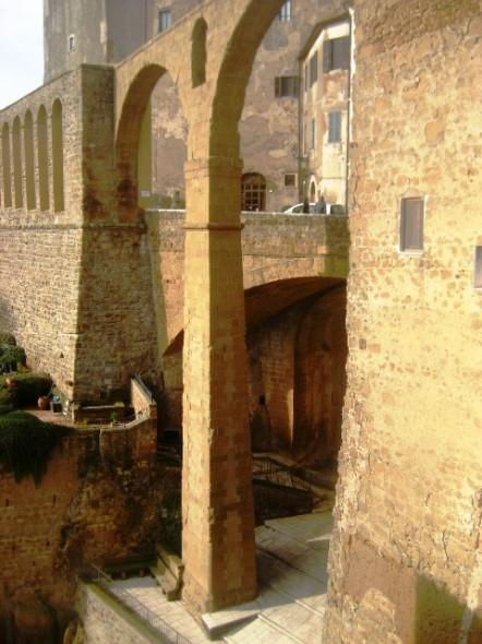 Aqueduto na Toscana
