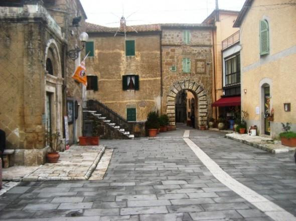 cidades medievais na Toscana