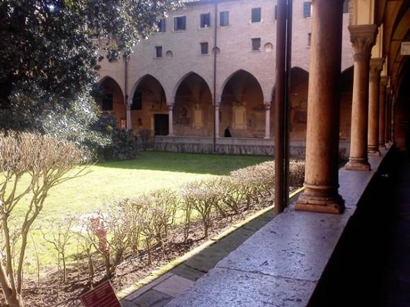 Jardim da igreja de Santo Antônio de Pádua