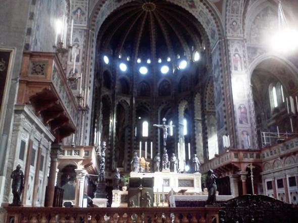 Altar da Basílica de Santo Antonio de Pádua