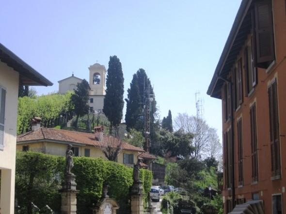 Nos arredores de Milão