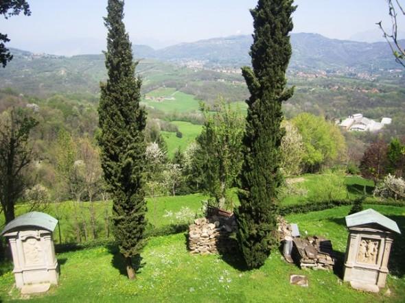 Vista a partir do Santuário de Montevecchia