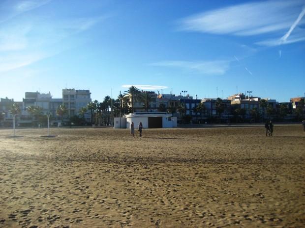 praia em Valência