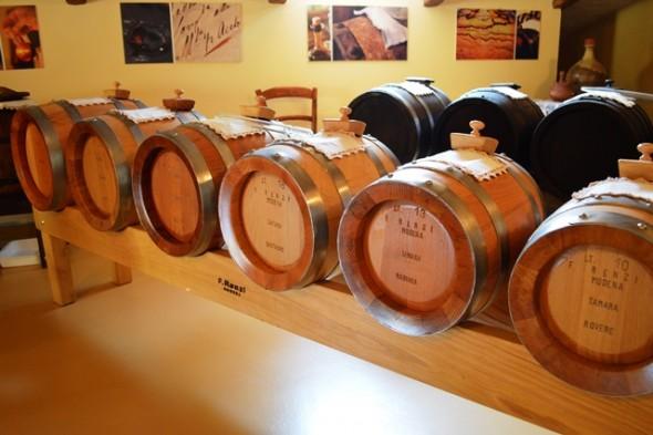 Barris de Vinagre Balsâmico