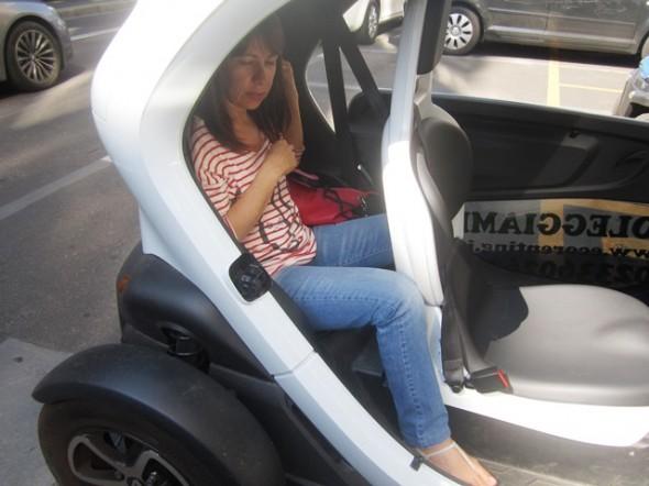 dirigir em Milão