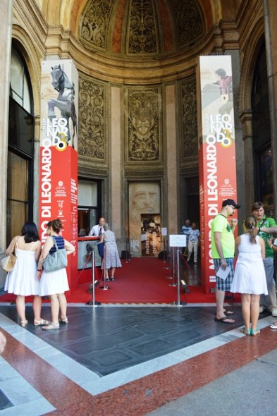 Entrada para visitar a mostra de Leonardoa Vinci