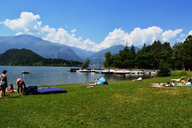 passeio no Lago de Como
