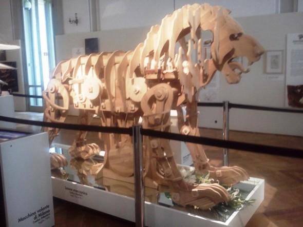 Leão mecânico de Leonardo da Vinci