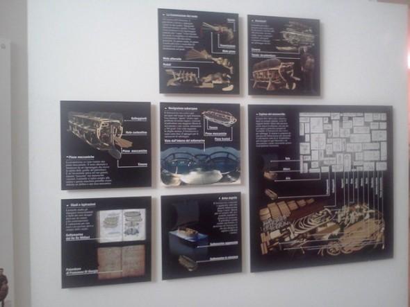Exposição de Leonardo da Vinci