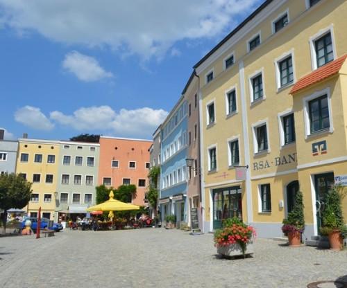 centro historico de Wasserburg
