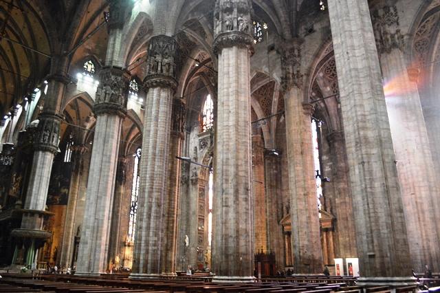 Colunas do Duomo de Milão