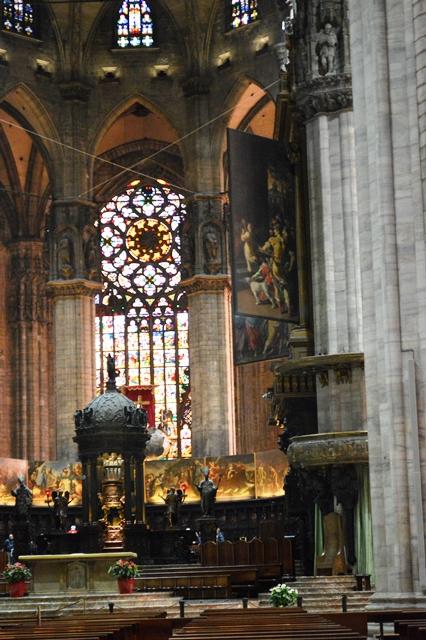 Altar da catedral de Milão