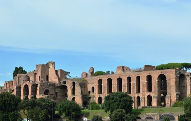 Palatino-o que fazer em Roma