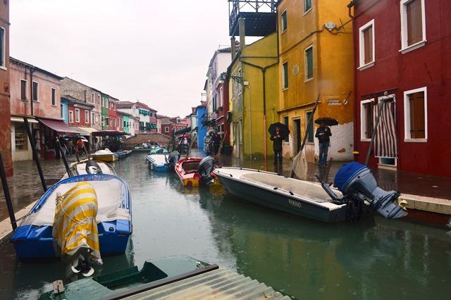 passeio de barco em Burano