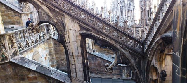 Terraços do Duomo de Milão