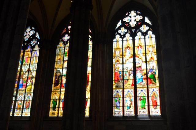 Vitrais da catedral de Colônia
