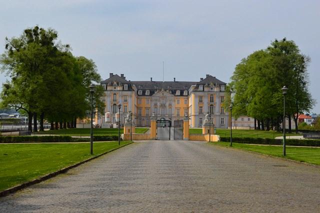 Castelo de Augustusburgdar na Alemanha