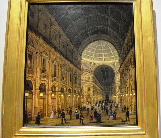 Pintura da Galeria Vitorio Emanuele II