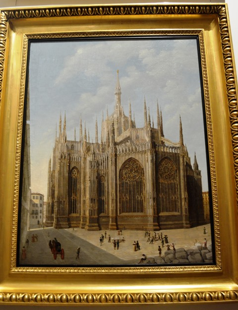 Pintura da igreja de Duomo