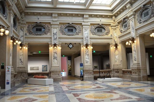 Museu no centro de Milão