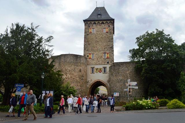 cidade medieval na Alemanha