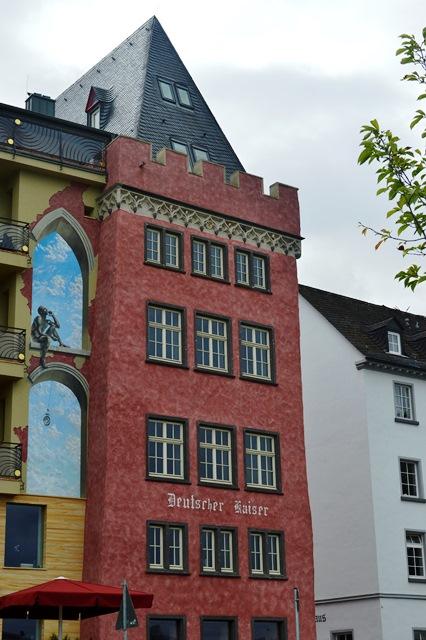 Edifícios de conto de fadas na Alemanha