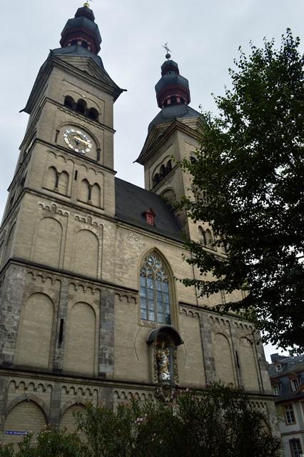 Igreja de nossa senhora em Koblenz
