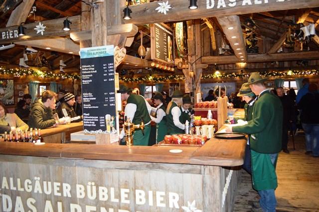Local típico nos mercados de natal em Colônia