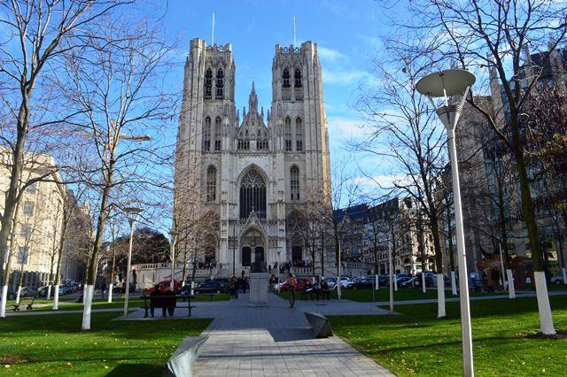 Catedral de St. Michael e St. Gudula em Bruxelas