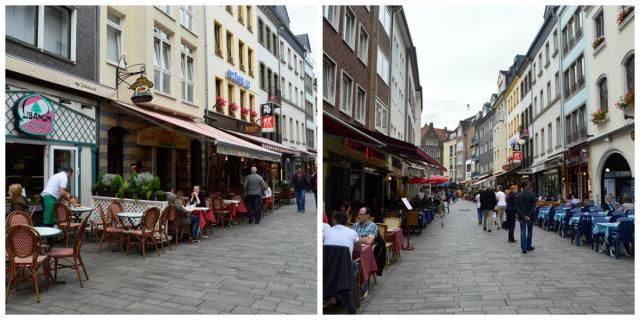Centro histórico de Düsseldorf