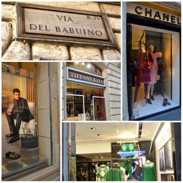 alta moda em Roma