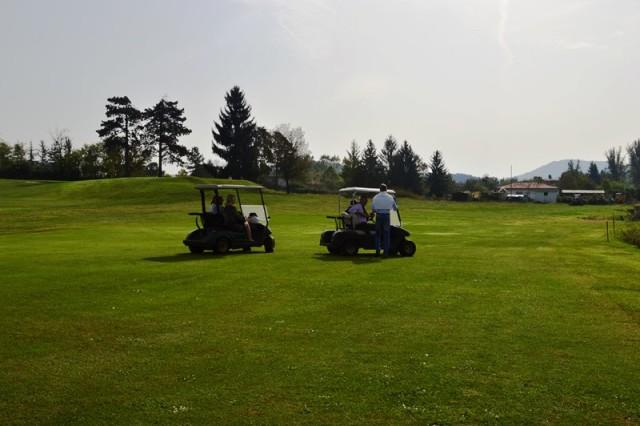 Campo de Golf na Itália