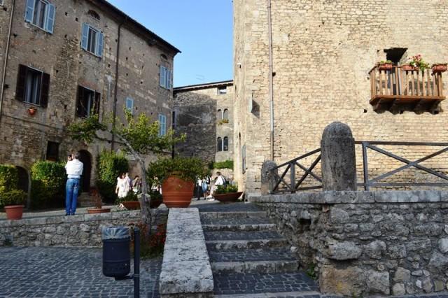 Cidade medieval na Itália