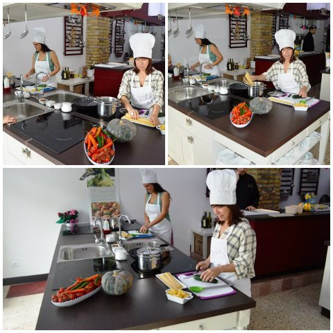 Curso de gastronomia na Itália