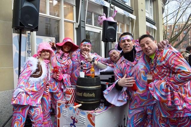 Festa de Carnaval em Colônia
