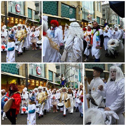 Desfile de carnaval na Alemanha