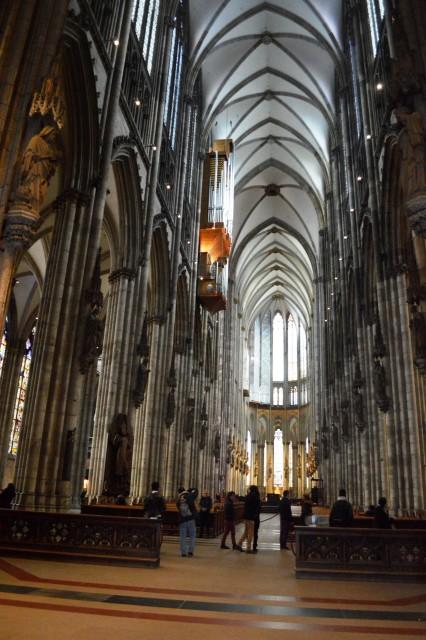 Interno da Catedral de Colônia