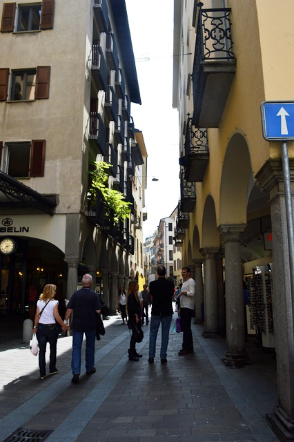 Um dia em Lugano na Suiça