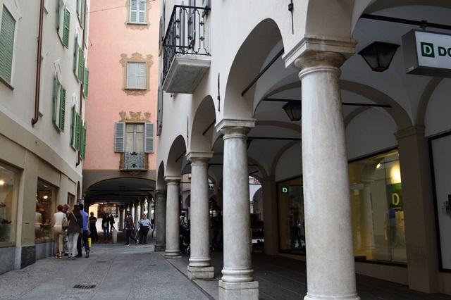 Via Canova em Lugano