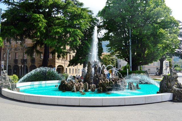 Fonte em Lugano