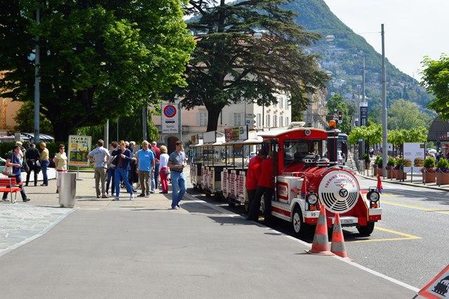 Trenzinho em Lugano