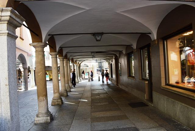 Arcadas em Lugano